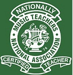 Seal of National Certification for Music Teachers National Association